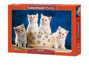Пазл CastorLand 4 котенка 500 деталей В-52042