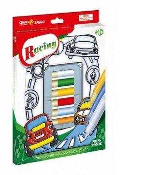 Витражи краски с витражем Веселая машинка в карт кор 25084
