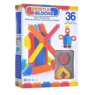 Конструктор игольчатый в коробке 36 деталей 68170