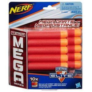 NERF комплект 10 стрел для бластеров Мега A4368
