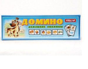 """Домино №15 """"Домашние любимцы"""" 00015"""