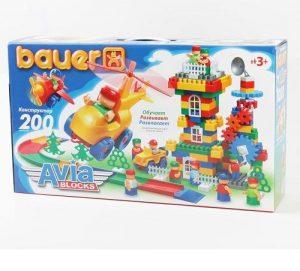 Конструктор Bauer серии Avia 200 эл в коробке 12/12 246