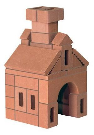 Изба конструктор керамический для детского творчества 601