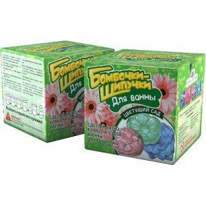 Бомбочки-шипучки Цветущий сад 732
