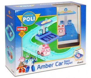 POLI Набор маленький трек с Умной машинкой Эмбер 83271