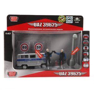 МашинаТехнопарк Милиция/полиция дежурная часть металлическая инерционная свет звук СТ-1232-TL(WB)