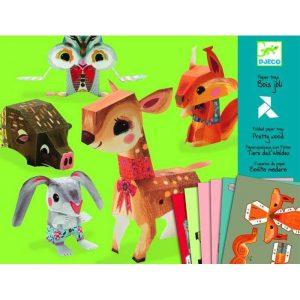 DJECO Волшебная бумага Животные 09674