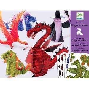DJECO Волшебная бумага Драконы 09673