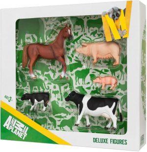 Набор фигурок Animal Planet 5 шт Ферма 387301