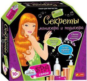 Набор для девочек Секреты маникюра и педикюра 12100026Р