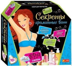 Набор для девочек Секреты ароматных ванн 12100028Р