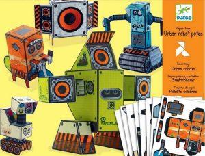 DJECO Волшебная бумага Роботы 09675