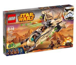 Игрушка Звездные войны Боевой корабль Вуки 75084