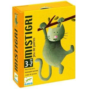 DJECO Детская настольная карточная игра  Мистигри 05105