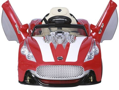 TjaGo Электромобиль 3-6 лет A.Martin LUX 2 аккум по 6v7AH МП3 регул громкости 2 Красный 108-A-YJ