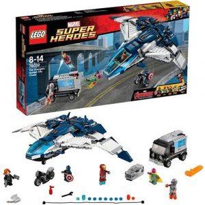 Игрушка Супер Герои Погоня на Квинджете Мстителей 76032