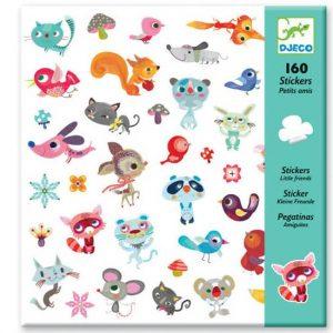 DJECO 160 наклеек  Маленькие Друзья 08842