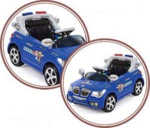 Tjago Электромобиль 3-6 лет BMW Police 6v7AH р/у МП3 регул громк красно/черный 20Х8-YJ