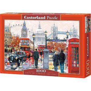 Пазл Castorland Коллаж Лондон 1000 деталей С-103140 3+