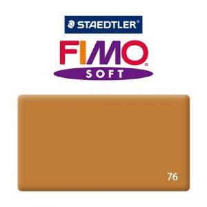 FIMO Soft Глина полимерная запекаемая в печке КОНЬЯК 8020-76