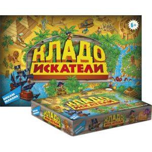 Детская настольная игра Кладоискатели 1206
