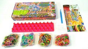 Набор цветных резинок для плетения фенечек LOOM TWISTER SV11757 МПИ