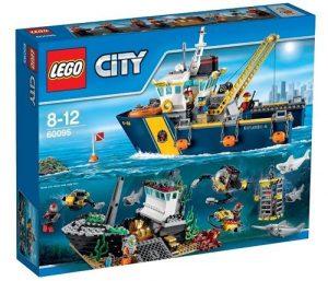 Игрушка LEGO City Корабль исследователей морских глубин 60095