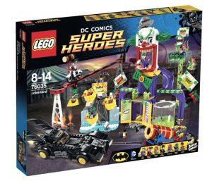 Игрушка LEGO Super Heroes Джокерленд 76035