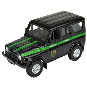 Игрушка модель машины УАЗ 31514 Лесная охрана 42380FC