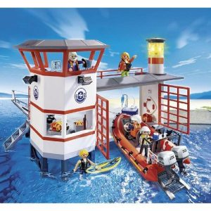 Береговая охрана Береговая станция с маяком 5539