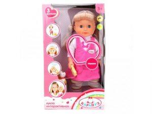 Кукла Карапуз 40см 3 функции 16131-RU