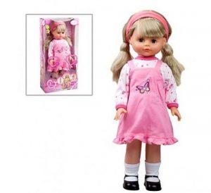 Кукла Карапуз 45см на бат 3функции 19983-7-RU