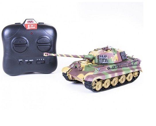 Р/У танк Pilotage Королевский Тигр 104 ИК пушка RC8349