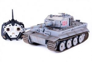 Р/У танк Pilotage Tiger 1 серый ИК пушка RC17234