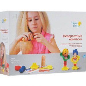Набор для детской лепки Невероятные прически ТА1025
