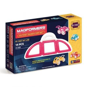 Магнитный конструктор Magformers My first Buggy Car розовый 63147