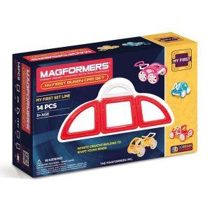 Магнитный конструктор Magformers My first Buggy Car красный 63145 702006