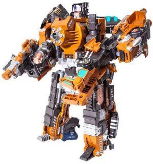 DEVIK Игрушка детская игровой набор пистолет робот 2в1 Crusher 3414408