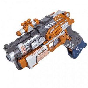 DEVIK Игрушка детская игровой набор пистолет робот 2в1 Slider 3414392