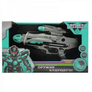 SPACE DEFENDER Космический пистолет 33см с музыкой и светом 3221092