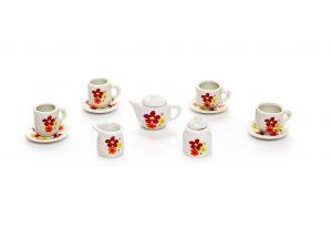Чайный фарфоровый набор Цветочек CH80901