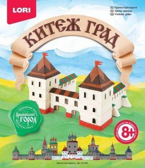 Лепка объемная Китеж-град Крепостные ворота Ол-004