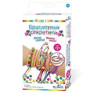 Happy loom Набор для создания браслетов Браслетики секретики 01724