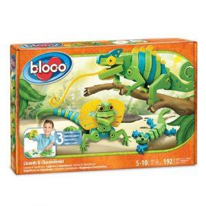 Конструктор Bloco Динозавры Ящерицы и Хамелеоны 30231