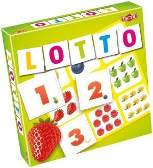 Tactic Games Лото Цифры и фрукты 52677