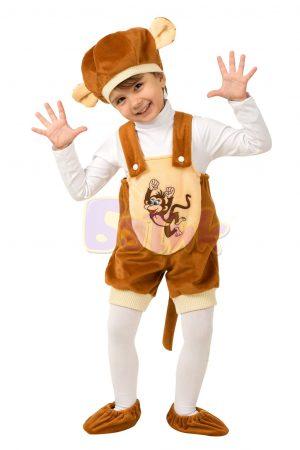 Карнавальный костюм Обезьянка Кроха р.26-28 1503-26