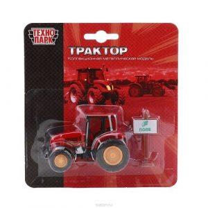 Трактор Технопарк металл 10119-R