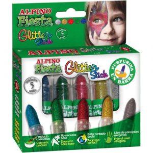 Детский аквагрим Glitter Stick макияжные карандаши с блестками DL000084