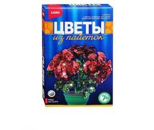 Цветы из пайеток Розы Цв-013