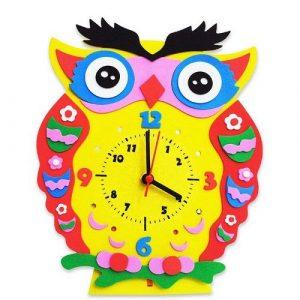 Веселая минутка Сова часы своими руками CL001